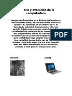 Historia y Evolución de La Computadora Y EL INTERNET JOS MARULANDA