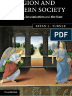 Bryan S. Turner - Religion and Modern Society_ Citizenship, Secularisation and the State -Cambridge University Press (2011)