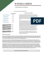 Carbon Market Report - September 2010