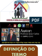 dEFINIÇÃO DA PALAVRA TABERNÁCULO professor jean carlos.pdf
