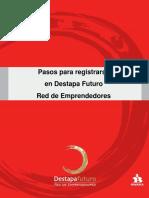 Instructivo Red de Emprendedores