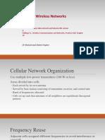 Week 2- Celluar Wireless Networking.