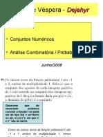 Matemática PPT - Conjuntos Numéricos