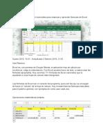 Formulario Excel