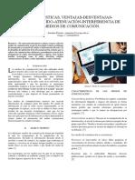 Características, Ventajas-Desventajas-distorsión-ruido-Atenuación-Interferencia de Los Medios de Comunicación