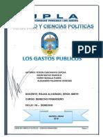 Monografia de Gastos Publicos