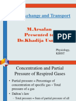 Gas Exchange and Transport (Physiology)