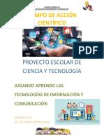 Proyecto Escolar Informe Final 2018-2019