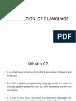 Introduction of c Language (3)