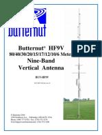 Butternut HF9V