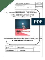Guía Lab. 08 Calif. Videocurrículum