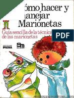 Cómo Hacer y Manejar Marionetas