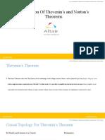 Verification of Thevenins and Nortons Theorem