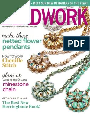 Beadwork Gen Feb 2014 Pdf Beadwork Jewellery