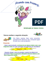 Matemática PPT - Multiplicações Inteiros