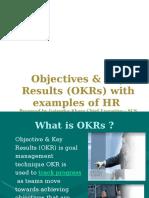 OKR for HR Management