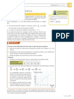 Magnitudes Directa e Inversamente Proporcionales