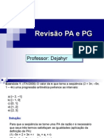 Matemática PPT - PA e PG