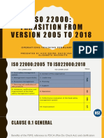 ISO 22000 Food Safety Policies and Procedures Sample | Food