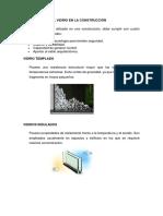 Aplicaciones Del Vidrio en La Construcción