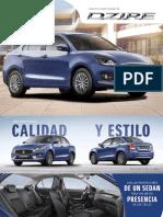 Catalogo Suzuki Swift Dzire Costa Rica