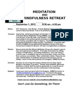 12-4-10 Retreat Flier With Image
