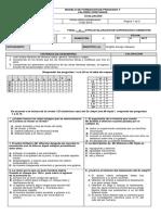 Evaluacion Superación Septimos ( II)