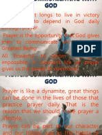 Prayer Communicating with God.pptx