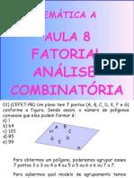 Matemática PPT - Aula 08 - Fatorial