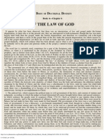 6. Of the Law of God.