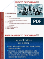 Entrenamiento Deportivo Sena