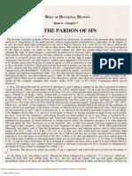 7. of the Pardon of Sin.