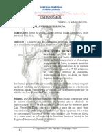 Carta Notarial de Flor Jovita Para Rosalía Westreicher