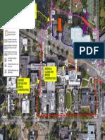 Sidewalk Closure Franklin Bridge Map