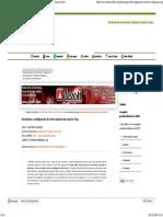 Instalación y Configuración de La Herramienta de Reportes Sarg