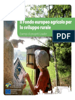 Il Fondo Europeo Agricolo Brochure