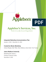 monty marketing imc plan for applebees final version