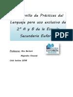Secundario2018 Practicas Del Lenguaje 2do Año Cuadernillo