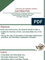 [Pharm107]7 Electrolytes