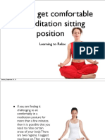 How to Get Comfortable in Meditation Sitting Position 130924161258 Phpapp02