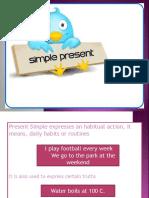 HELP 5 - The simple present tense part 1 (+) (2)