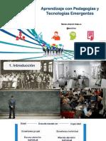 Aprendizaje con Pedagogías y Tecnologías Emergentes