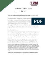 Textos Final II Ingles