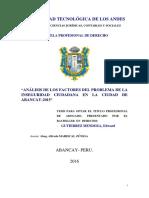 Tesis-Análisis de los factores del problema de la inseguridad ciudadana T040_31020536_T.pdf