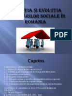 Aparitia Si Evolutia Asigurarilor Sociale in Romania