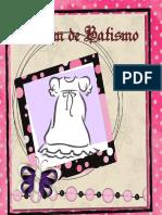 Álbum de Batismo - Menina 1