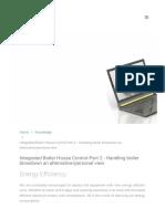 Integrated Boiler House Control Part 2 Handling Bo