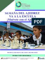 Instrucción El Ajedrez Va a La Escuela