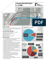 Center Street Bridge Seismic Retrofit Fact Sheet