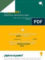 [CLASE 3] El Poder_ Definición, Elementos y Tipos